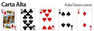 Carta alta poker texas hold'em