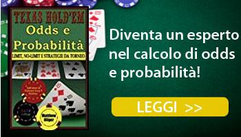 libri calcolo odds probabilità poker texas holdem