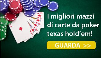 Migliori carte da poker