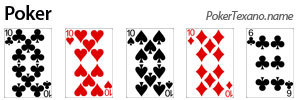 Fare poker a Scala colore poker texas hold'em